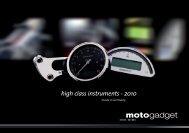 high class instruments - 2010