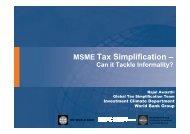 MSME Tax Simplification - International Tax Compact