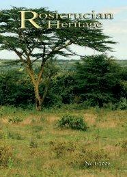 Rosicrucian Heritage Magazine - 2006-03 - AMORC