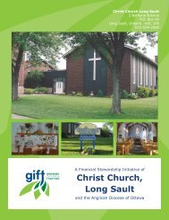 Christ Church, Long Sault - Growing in Faith Together