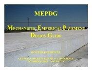 MEPDG Gulden - American Concrete Pavement Association