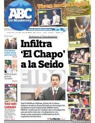 Infiltra 'El Chapo' a la Seido - Periodicoabc.mx