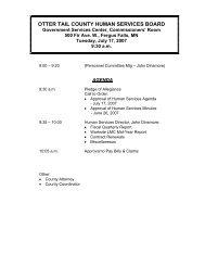 Agenda 07/17/2007 - Otter Tail County