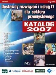 Firmy consultingowe i szkoleniowe Raport MSI maj ... - MSI Polska