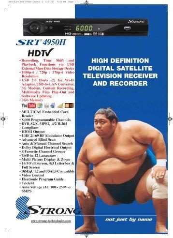 SRT 4950H - Strong Technologies