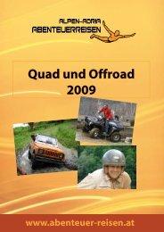 Quad und Offroad 2009 - Abenteuer Reise in Österreich