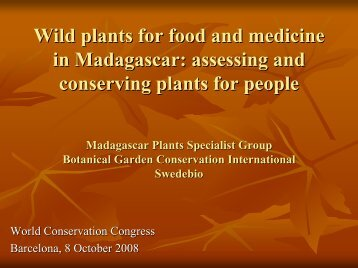 1521_Jeannoda_V_Wild plants for food and medicine - IUCN Knowledge ...
