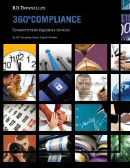 Download PDF - RR DONNELLEY FINANCIAL