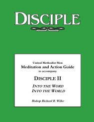 Download the study guide here - United Methodist Men