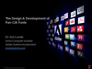What Is A Pan-CJK Font?
