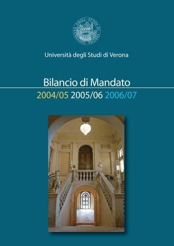 pdf (it, 3462 KB, 04.02.10) - Università degli Studi di Verona