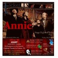 Annie - Stage Right Resources