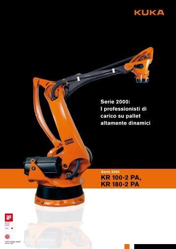 Scheda tecnica | Robot industriali KR 180-2 PA - Logismarket