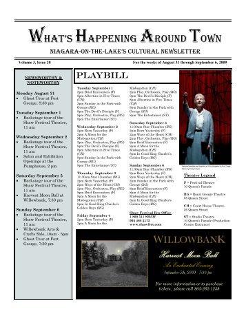 Newsletter August 31 2009 edition.pub - Niagara Historical Society ...