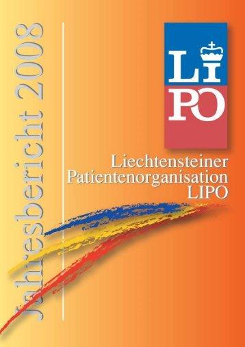 Die Liechtensteiner Patientenorganisation LIPO