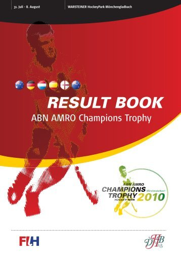 Final Results Book - International Hockey Federation