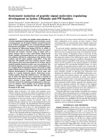 characterization of antimicrobial peptide ll37 Antimicrobial peptides (amps), also called host defense peptides (hdps) are part  of the innate  ll-37, the only human member of the cathelicidin family of  antimicrobial  large-scale analysis of antimicrobial activities in relation to  amphipathicity and charge reveals novel characterization of antimicrobial  peptides.