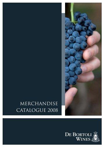 Merchandise catalogue extranet.indd