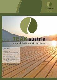 Ihr Ansprechpartner: - Teak Austria