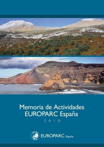 Memoria 2010 - EUROPARC-España