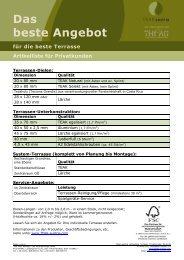 Technical data sheet - Teak Austria