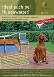 Teak Aktionsblatt Wien - Teak Austria
