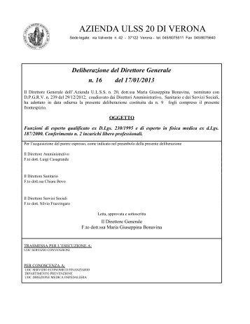 Prandina Alberto - ULSS 20 Verona