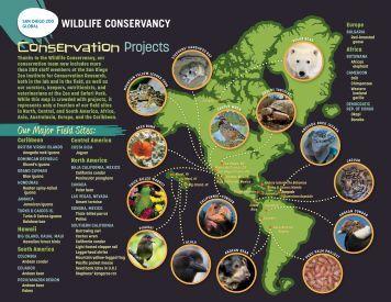 Wildlife Conservancy Map (PDF) - San Diego Zoo