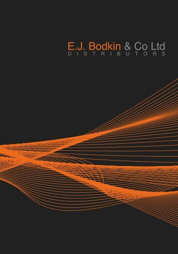 NEW - EJ Bodkin & Co Ltd.