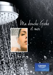 GROHE brochureA4:Mise en page 1 - GROHE - Robinetteries, salle ...