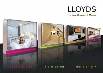 to download the latest Lloyds brochure - Lloyds fitted furniture