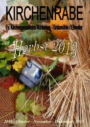 2013 - Oktober - November - Dezember - 2013 - Kirchenkreis Obere ...