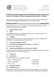 runden der Schweizer Pistolen-Gruppenmeisterschaften 10/25