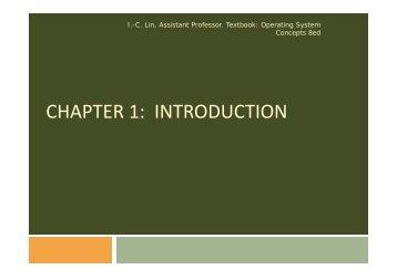 chapter 1 introduction chapter 1: introduction