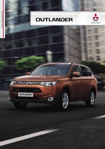 Modell katalógus - Az Új Outlander - Mitsubishi