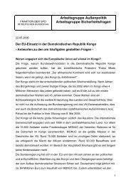 EU-Einsatz im Kongo: Antworten auf die häufigsten ... - Rainer Arnold