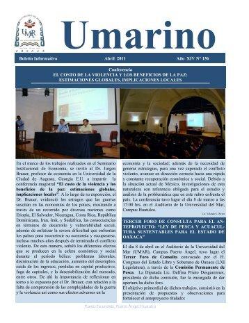 Boletín Informativo Abril 2011 Año XIV N° 156 Conferencia EL ...