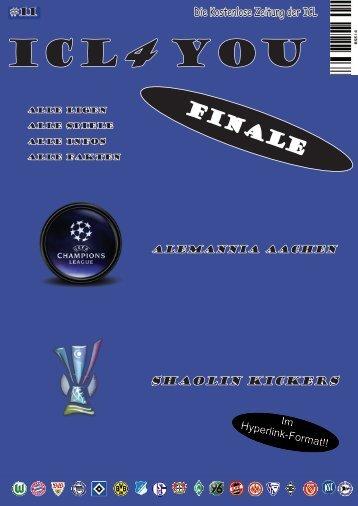 Ausgabe 11 - International Comunio League