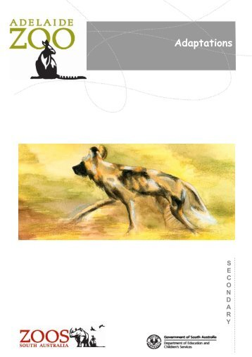 Adaptations - Zoos South Australia