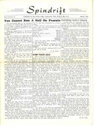 spindrift mar 1955 - Cordova Bay Association for Community Affairs