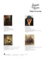 Portraits of Renown (Available Images) - News from the Getty
