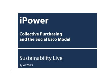 iPower - Sustainability Live