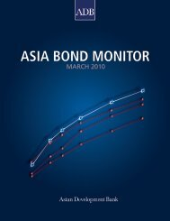 Asia Bond Monitor - March 2010 - AsianBondsOnline