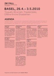 Agenda Basel - Im Fall