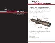 The Vortex® Razor® HD Gen II 1–6x24 Riflescope - Vortex Optics