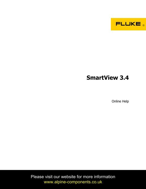 fluke smartview 3.3