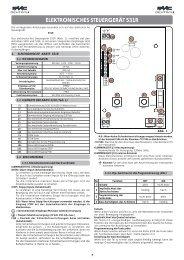 elektronisches steuergerät 531r - FAAC