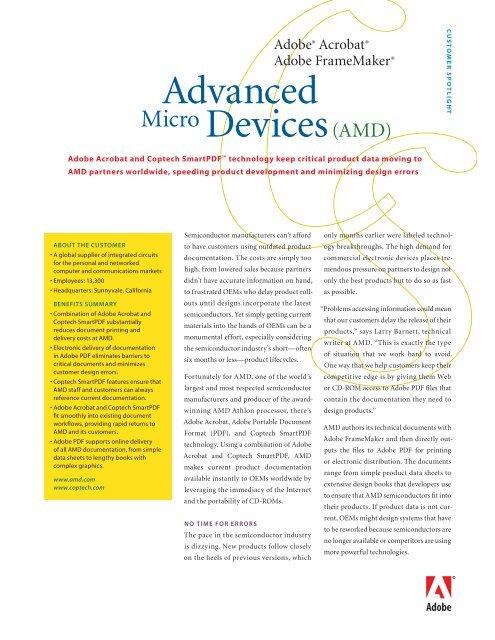 Advanced Micro Devices Amd
