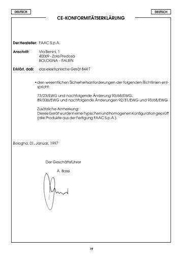 844 T.pdf - FAAC Servicecenter Österreich