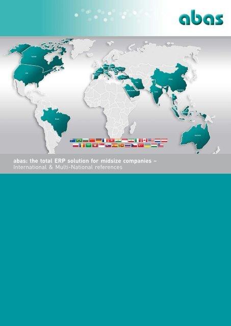 International ERP Software - ABAS Software AG